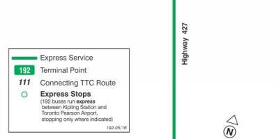 Toronto Bus map. All Toronto Bus maps. on
